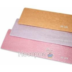 Креп-бумага Fantasy 20% розовый перламутровый 80-105/10