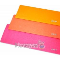 Креп-бумага Fantasy 20% розовый флюрисцентний 80-94 / 10