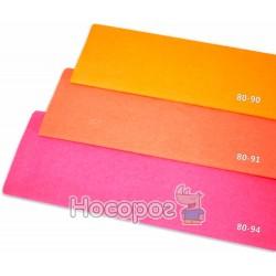 Креп-бумага Fantasy 20% оранжевый флюрисцентний 80-91/10