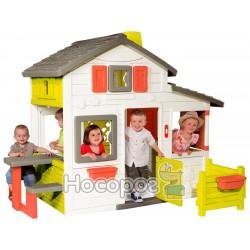 Будинок для друзів SMOBY з горищем та дверним дзвінком