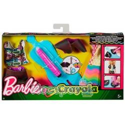 """Набор одежды Barbie x Crayola """"Сотри и нарисуй"""""""