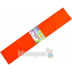 Бумага крепированная 80-24/10-55 ярко-оранжевая