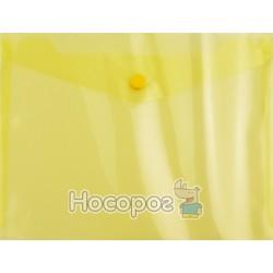Папка-конверт на кнопке JOBMAX прозрачная pn-BM.3937-08
