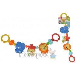 """Игрушка-цепочка Simba на колыбель """"Веселые животные"""""""