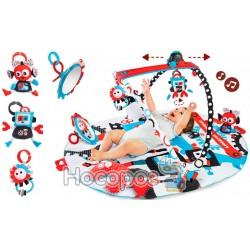 """Розвиваючий інтерактивний музичний килимок Yookidoo """"Роболенд"""""""