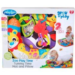 Развивающий коврик Playgro Зоопарк с подушечкой 0186988