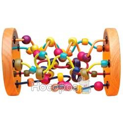 Развивающая деревянная игрушка Battat - ЦВЕТНОЙ ЛАБИРИНТ BX1155