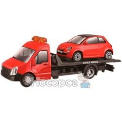 Игровой набор Bburago - автоперевозчиков с автомоделлю FIAT 18-31402