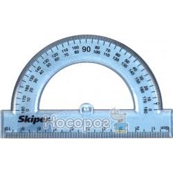 Транспортир прозорий Skiper SK-3819 205400
