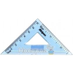 Угольник прозрачный Skiper прямоугольный/равнобедренный