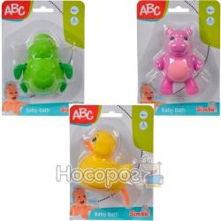 """Игрушка для ванны Simba """"Животные"""" 3 вида 4010032"""