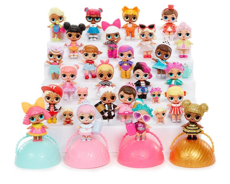 Куклы и акссесуары: Вся колекция кукол лол