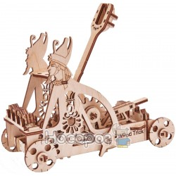 """3D-конструктор Wood Trick """"Катапульта"""" Євро"""