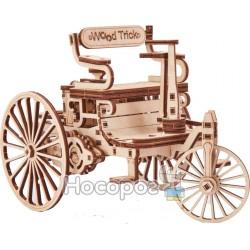 """3D-конструктор Wood Trick """"Перший автомобіль"""""""