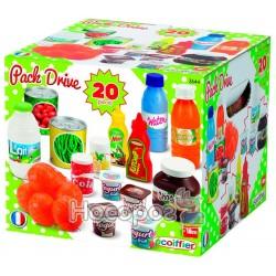 Набор продуктов Ecoiffier в коробке, 20 аксессуаров 2644