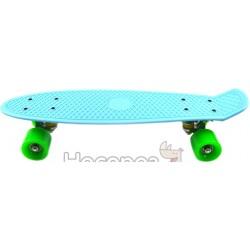 Скейт 7801 голубой