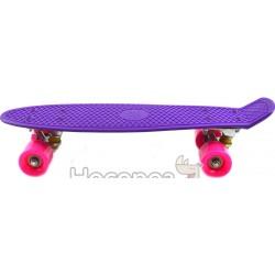 Скейт 7802 фиолетовый