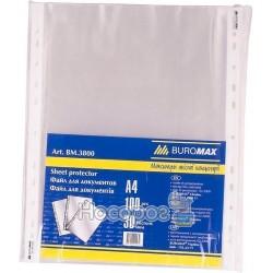 Файлы Buromax А4 30 мкм, 100шт ВМ3800