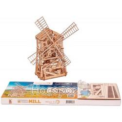 """Механічна сувенірно-колекційна модель Wood Trick """"Млин"""" Евро"""
