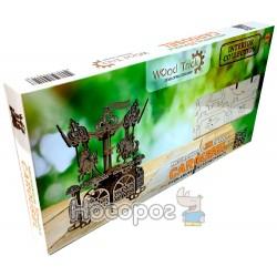 "Механічна сувенірно-колекційна модель Wood Trick ""Карусель"" Укр"