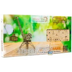 """Механическая сувенирно-коллекционная модель Wood Trick """"Кран"""" Евро"""