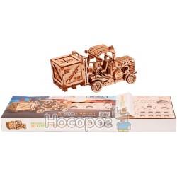 """Механическая сувенирно-коллекционная модель Wood Trick """"Погрузчик"""""""