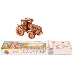 """Механічна сувенірно-колекційна модель Wood Trick """"Трактор"""""""