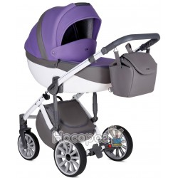 Коляска Anex 2в1 модель Q1 SP21 ultra violet фиолетовая