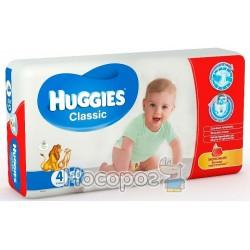 Подгузник для детей Huggies Classik 4 (7-18кг)
