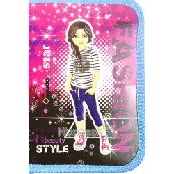 Пенал картонный Kidis Fashion style 7172