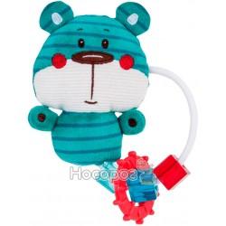 Игрушка-зубогрызка Canpol Forest Friends синий мишка 68 / 046_blu
