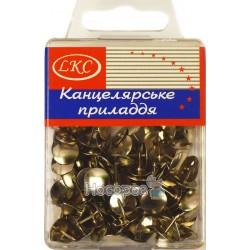 Кнопки LKC никелированные №1026