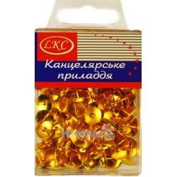 Кнопки LKC позолочені №1027
