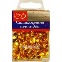 Кнопки LKC позолоченные №1027