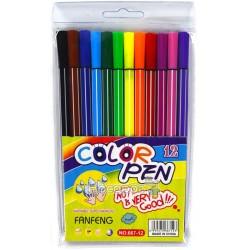 """Фломастери """"Color Pen"""" 667-12"""