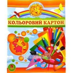 """Картон цветной Колорит """"С"""" КЦ-8"""