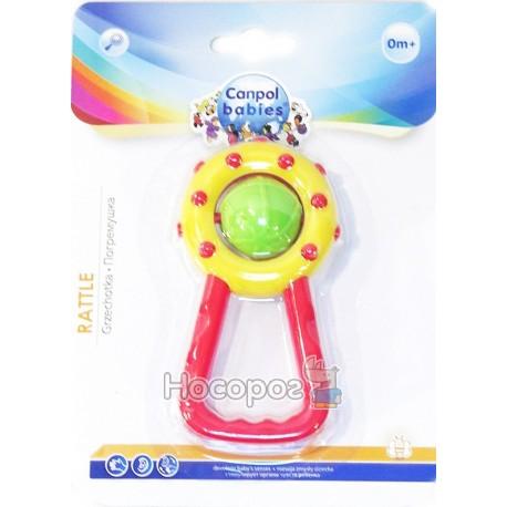 Фото Погремушка Canpol Babies Мячик с ручкой 2.804