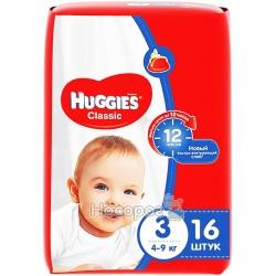 Подгузники Huggies Classic 3 Small 16 шт. (5029053543086)
