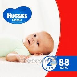 Подгузники Huggies Classic 2 Mega 88 шт. (5029053544816)
