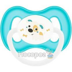 Пустышка Canpol Babies Bunny & Company круглая 23/277
