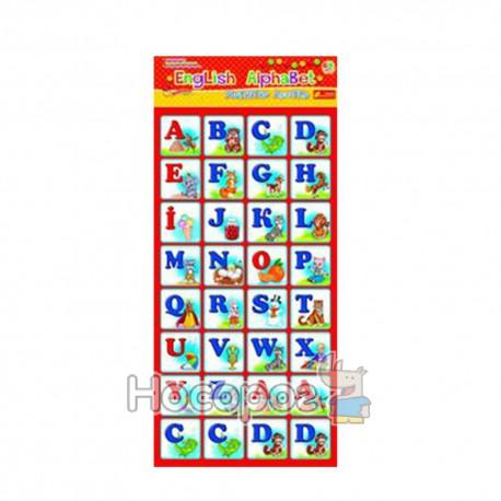 4204 Магнитная азбука English Alphabet 13133004a