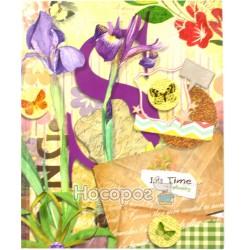 Блокнот Лист псевдоинтегральна обложка, матовая ламинация, УФ лак, 96 листов