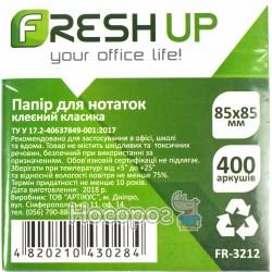 Бумага для заметок Fresh Up 85х85мм FR-3212