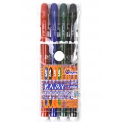 Ручки в наборі J.Otten 4 колбори, гель ЕВ777