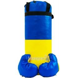 Боксерский набор Украины средний (высота 46см, даметр 18см)