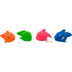 """Іграшка для купання Canpol """"Рибки/Дельфін"""" 2/993"""