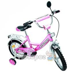 """Велосипед EXPLORER 14"""" BT-CB-0031 розовый с серебряным"""