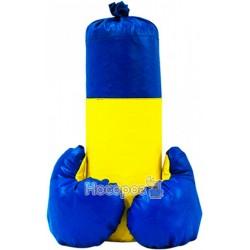 Боксерський набiр Strateg Україна маленький(висота 40см, діаметр 14см)