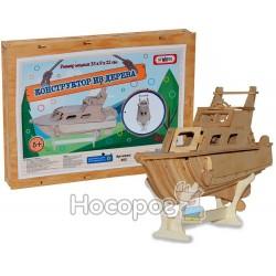 Конструктор деревянный Strateg Яхта 365