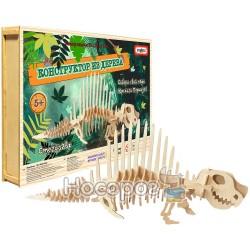 Конструктор деревянный Strateg Стегозавр 461